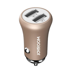 JOYROOM F635 Car Charger Dual USB port (3.1 A) mini car charger