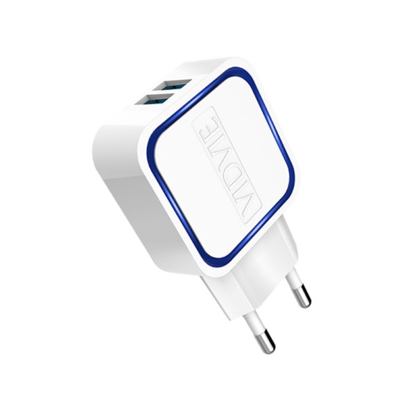VIDVIE PLE202 Home Charger 2USB (2.1A) Fast ,with Micro USB cable