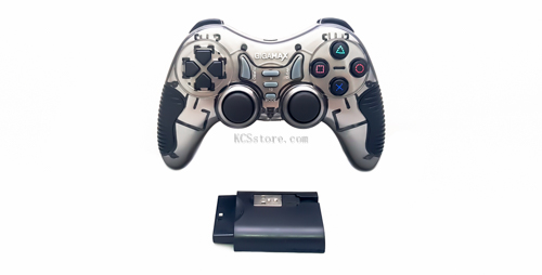 Gigamax gp-w2021 wireless game pad compatible with pc / ps2 / ps3