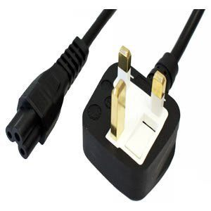 Original Power Cable UK Plug Lead Cord For Laptop 250v