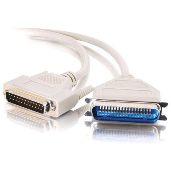 DB25 Male to 36 Male Parallel Printer Cable (LPT1)