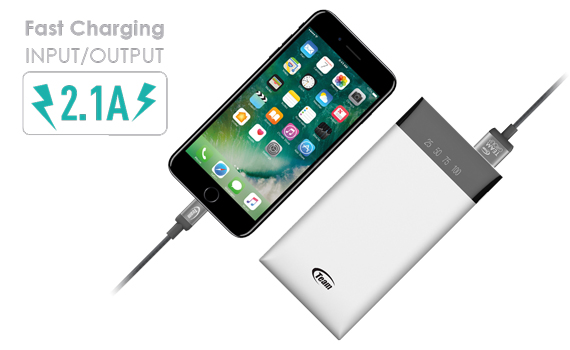 Charging two times faster with high current output