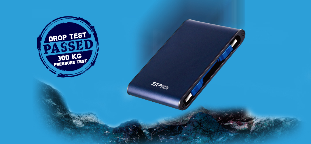 Armor A80<br><font color='#888888' size='2%'>(portable hard drive)</font> Nothing Can Shock Me