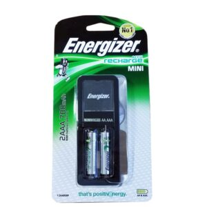 Energizer ACCU Recharge MINI rechargeable AA & AAA batteries 2000 mAh