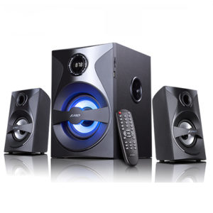 F&D F380X 2.1 Multimedia Bluetooth Speaker With NFC , SD , USB , Bluetooth