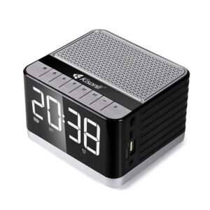KISONLI G8 Clock Bluetooth Speaker Portable Holder Design Music Player