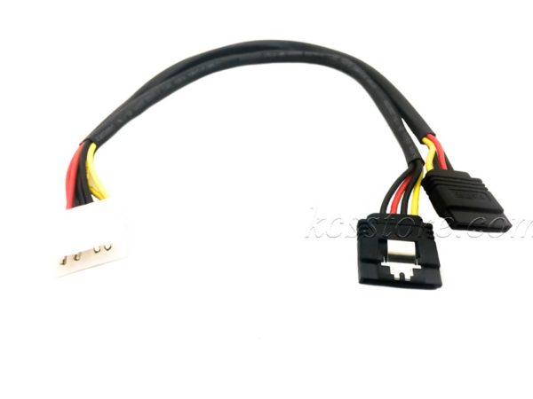 4 Pin to 2 SATA Power Cable Shield Original