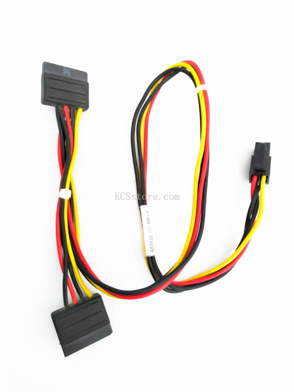 Cable from 4 Pin to 2 SATA-F Original