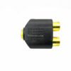 Connector RCA-F to 2RCA-F