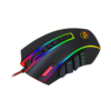 REDRAGON M990-RGB LEGEND 24000 DPI High-Precision Programmable Laser Gaming Mouse for PC, MMO FPS, 16 Side Buttons, 5 Programmable User Profiles, 5 LED Lighting Modes