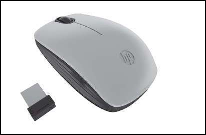 HP Z3200 Natural Silver Wireless Mouse