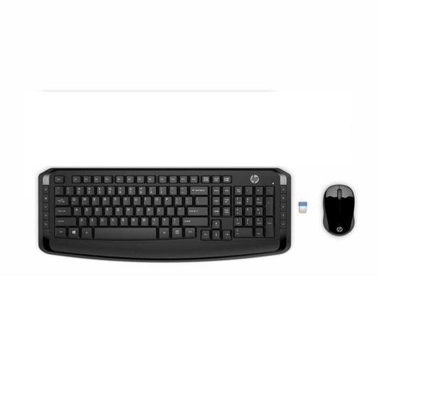 HP 300 WIRELESS KEYBOARD AND MOUSE FOR LAPTOP AND PC