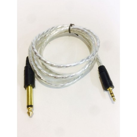 DJ Audio 3.5mm To 6.35mm Stereo Audio Cable