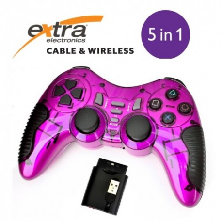 Extra wireless (5 in 1) Double vibration