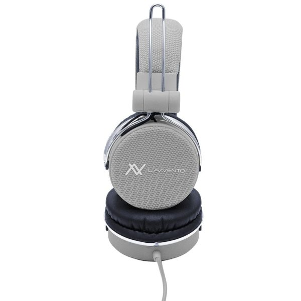 Lavvento HP06A Headphone Stereo Golden Plug With 40mm Speaker Driver 1.5M