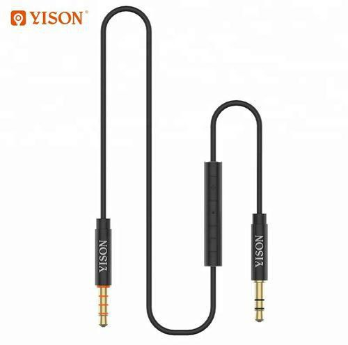 YISON AC-04 Smart AUX Cable With Smart Control 1.2M