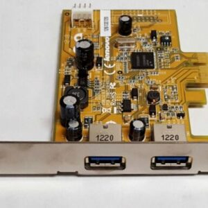Lenovo Full Height Dual Port USB 3.0 Interface Card USB2323LV