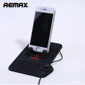 REMAX Super Flexible Dash Board Car Holder with Magnet 2 In 1 Cable Charging Output
