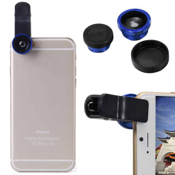 SELFIE cam lens with universal clip