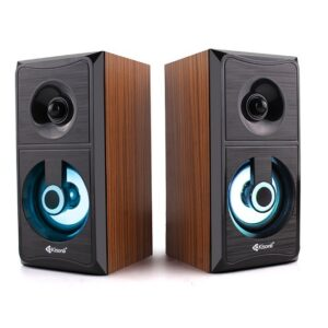 Kisonli - AC 9001 Wood PC Speaker USB