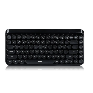 REMAX K101 Retro Typewriter Wireless Bluetooth Keyboard - Black