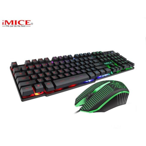Imice km-600 USB WIRED KEYBOARD GAMING KEYBOARD and MOUSE