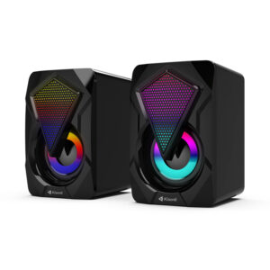 Kisonli L-9090 USB 2.0 Channel Speaker - Black