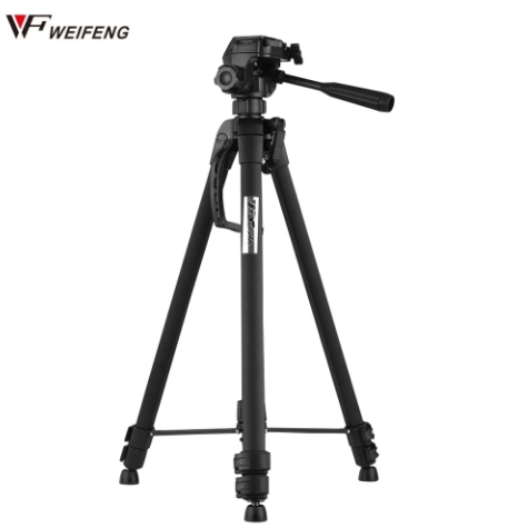 Weifeng WT-3560 Camera/Camcorder/Mobile Tripod Lightweight Sturdy and Compact