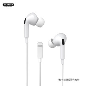 WK DESIGN Y31 IP Wired Earphone