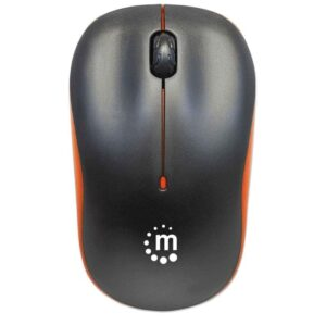 Manhattan Success Wireless Optical Mouse 179409 - Black
