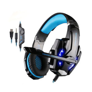 Kotion Each G9000 LED Gaming Noise Cancelling Gaming Headset Black/Blue